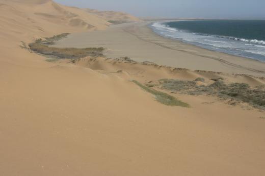 Namibia-tengerpart