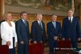 Mádl Ferenc megbeszélése a parlamenti pártok elnökeivel