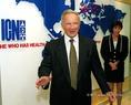 Milan Panics az ICN budapesti székházában