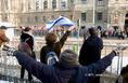 Mazsihisz demonstráció a Kossuth téren