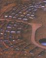 Tyuonyi, a Rio Grande vízgyűjtő egyik leglátványosabb Anasazi-pueblója
