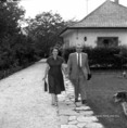 Feleki Kamill Kossuth-díjas színművész feleségével