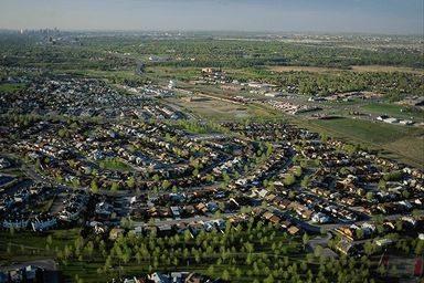 Város látképe