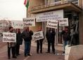Hemofíliások Baráti Körének tüntetése