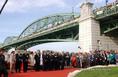 Felavatták a Mária Valéria hidat
