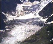 Gleccsernyelv, oldal- és végmoréna