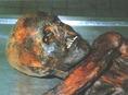 A mumifikálódott fej