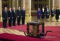 A Szent Korona elhelyezési ünnepsége az Országházban