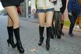 Prostituáltak demonstrációja Budapesten