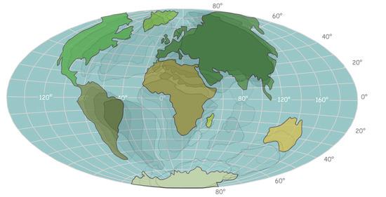 A kontinensek vándorlása