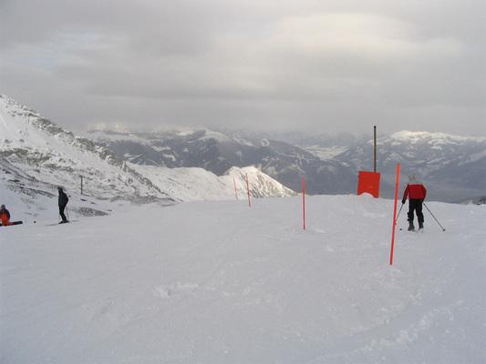 Hófödte magashegységi táj
