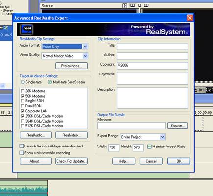 Internetes formátum létrehozása