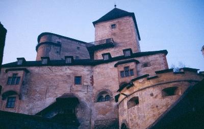Az árvai vár - a középsővár