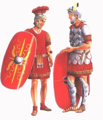 Római katonák