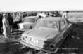 NDK kivándorlók elhagyott autóinak kiárusítása