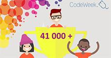 Minden tizedik iskola csatlakozott a Code Week-hez