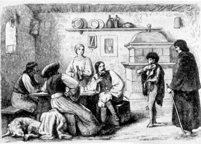 Fogadó a 19. századi Magyarországon