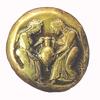 Makedón ezüstérme (Kr. e. 490 körül)
