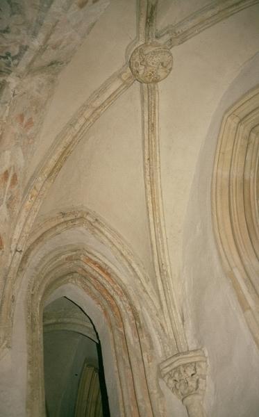 A soproni ferences kolostor - a káptalan terem részlete