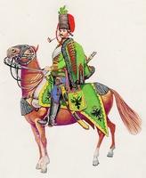 Baranyay-huszár (1760)