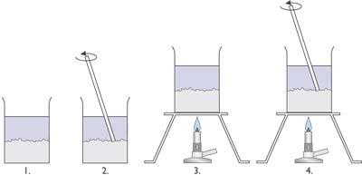 Kálium-nitrát oldódása