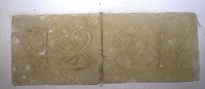 A nagyvázsonyi plébániatemplom - az 1481-es építési felirat