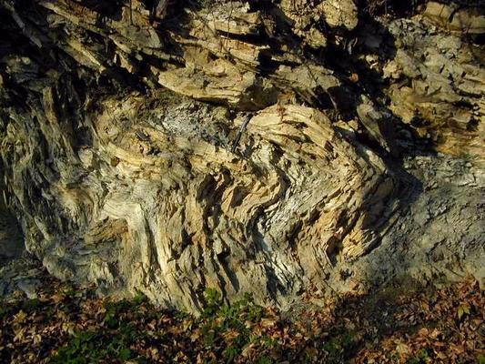 Kőzetrétegek