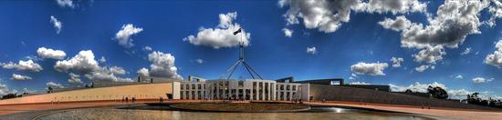 Canberra – a Parlament