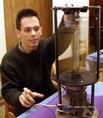 Bujtás Péter budapesti informatikus mérnök háromdimenziós megjelenítő készüléke