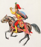 Menzel-huszár (1745)