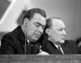 Leonyid Brezsnyev és Kádár János az MSZMP IX. kongresszusán
