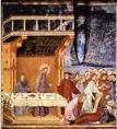 Giotto di Bondone: Ferenc egy celonai lovagnak előre megmondja halálát