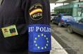 Az uniós határőrök karjelzése a magyar-ukrán határon