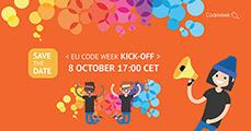 Vegyen Ön is részt az EU Codeweek megnyitóján!