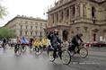 Kerékpáros demonstráció