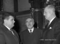 Szabó István, Frantner József és Tömpe István az Országgyűlés januári ülésszakán