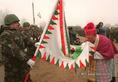 Okucaniban induló IFOR-katonák búcsúztatása Ercsiben