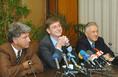 Sajtótájékoztató a koalíciós tárgyalásokról