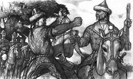 Vérszerződés a honfoglaló magyarok korában