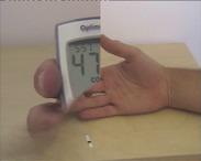 Vércukorszint mérése 1