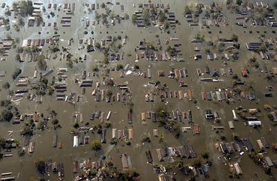 New Orleans a Katrina hurrikán után