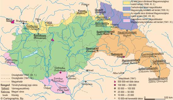 Magyarország közigazgatása 1920-1944 között