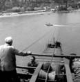 Az Erzsébet híd építése