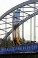 Becsomagolják a Belvárosi hidat Szegeden