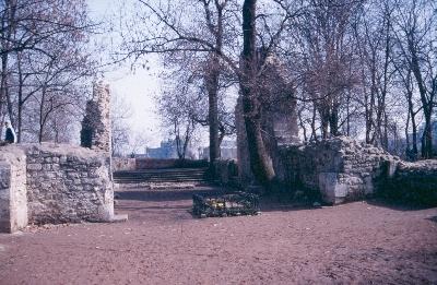 A margitszigeti dominikánus apácakolostor - a templom szentélye Szent Margit sírjával