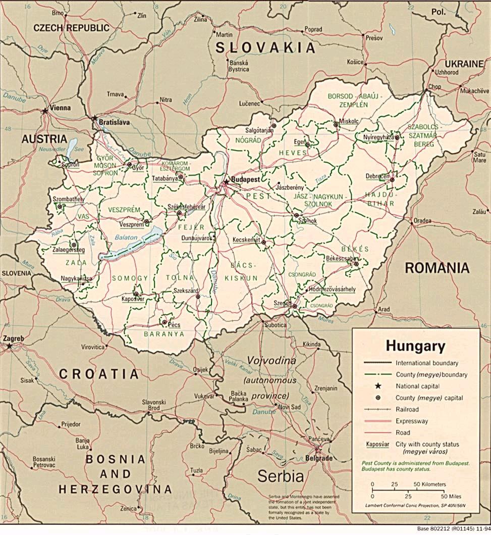 magyarország szomszédos országai térkép Ember a természetben   3. osztály | SuliTudásbázis magyarország szomszédos országai térkép