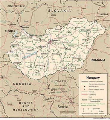 Magyarország és a szomszédos országok