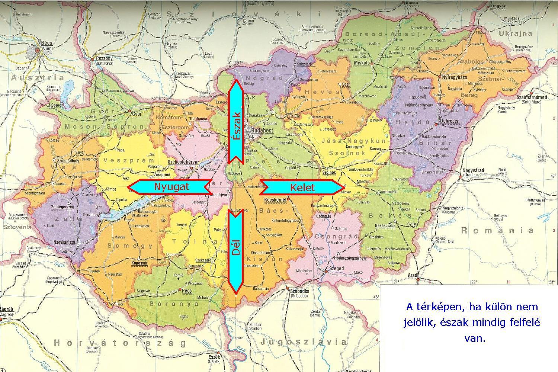 magyarország égtáj térkép Ember a természetben   3. osztály | SuliTudásbázis magyarország égtáj térkép