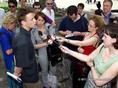 A Kendermag Egyesület sajtótájékoztatója a Vörösmarty téren