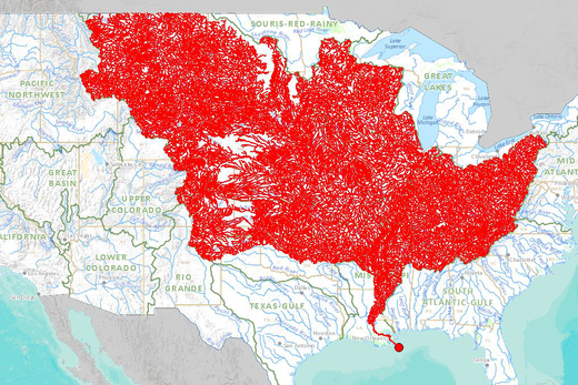 Mississippi-vízgyüjtő